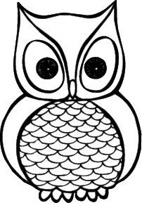 Could be a cute owl tattoo with color.