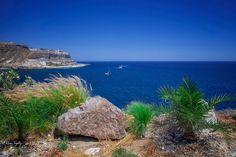 Gran Canaria: Blick auf die Küste von Puerto Rico