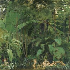 Bernard Boutet de Monvel (French, 1881-1949), Diane et Actéon [Diana and Actaeon]. Oil on canvas, 175 x 175.5 cm.