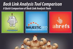 3 Best Backlink Analysis and Backlink Checker Tools [Infographics] -- [SEO] [Tool Box] [Link Analysis] [Link Building] [Product Review] #DigitalE45DK