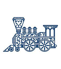 Tattered Lace Metal Die-Vintage Train