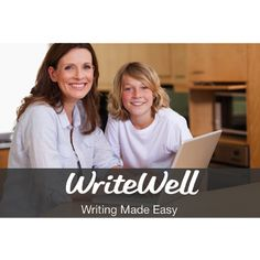 Teaching writing in your homeschool? Writewell is an online writing tool for elementary, middle, and high school students. The point-and-click structure teaches kids how to craft interesting pieces in a variety of styles. Take the anxiety and difficulty out of writing with a 13-month membership to WriteWell's online program.