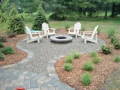 Outdoor Fire Pit Patio Ideas pit back to article best tips for the perfect backyard fire pit Creative Fire Pit Designs And Diy Options Fire Pit Area, Fire Pit Backyard, Fire Pit Off Patio, Backyard House, Fire Pit With Pavers, Fire Pit Gravel Area, Paver Fire Pit, Fun Backyard, Diy Fire Pit