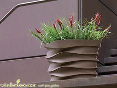 Espirit Contemporary Planter - Resin and Fiberglass Planters - Pots & Planters - Windowbox.com