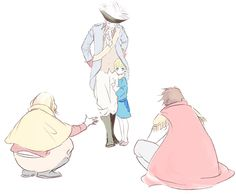 The Bad Touch Trio with little Germany -prussia, france, spain -hetalia Prussia Hetalia, Hetalia Germany, Germany And Prussia, Hetalia Funny, Bad Touch Trio, Spamano, Usuk, Animes On, Bad Friends