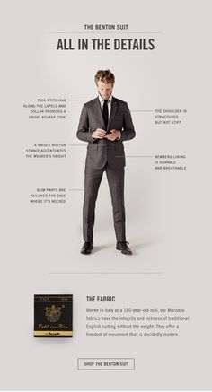 "Jack Spade: ""Attention to Detail: The Benton Suit"""