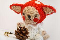 Little Cat Amanita - PDF amigurumi crochet pattern. Stuffed eco toy. https://www.etsy.com/listing/220258507/little-cat-amanita-pdf-amigurumi-crochet?ref=shop_home_active_2  $5.95 USD