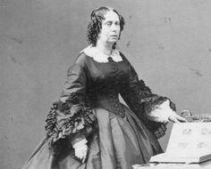 Carte de Visite. Koningin Sophie (Stuttgart, 1818 – Den Haag. 1877) was de tweede dochter van de koning Wilhelm I van Württemberg en grootvorstin Catharina Paulowna van Rusland. Ze trouwde in 1839 met de latere koning Willem III. Van 1849 tot 1877 was ze koningin der Nederlanden.