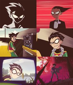 Robin from Teen Titans Old Teen Titans, Teen Titans Robin, Original Teen Titans, Teen Titans Funny, Dc Comics, Batman, Bat Family, Dc Heroes, Nightwing
