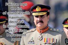 Pakistan tops list of countries observing decrease in terror attacks: US report   Pakistan   Dunya News