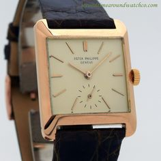 1958 Vintage Patek Philippe Ref. 2488 18K Rose Gold Watch