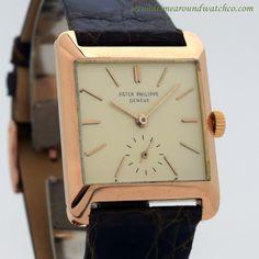 1958 Vintage Patek Philippe Ref. 2488 18K Rose Gold Watch