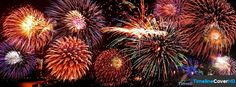 Fireworks Sky Timeline Cover 850x315 Facebook Covers - Timeline Cover HD
