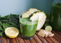 If you're feeling a nagging headache coming on, whip up this green juice to help relieve the pain.