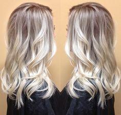 toned blonde - All For Hair Cutes Blonde Hair Blue Eyes Makeup, Cool Blonde Hair, Balayage Hair Blonde, Blue Hair, Bronde Balayage, Beautiful Hair Color, Cool Hair Color, Hair Colour, Mom Hairstyles