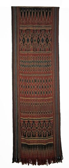 Ceremonial Cloth from Sulawesi - used for Torojan funerals - 20th c