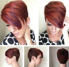 Gorgeous Short Pixie Hairstyle for Thick Hair - Haircuts 2016