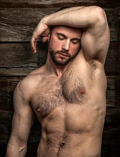 hairy chest and pits
