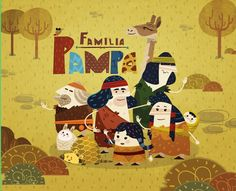 "다음 @Behance 프로젝트 확인: ""Familia Pampa"" https://www.behance.net/gallery/33456929/Familia-Pampa"