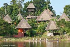 Lodges in the Amazon! Ecuador Amazon Rainforest tours with ROW Adventures.