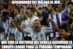 Y sin hacer mucho ruido el Málaga a la Europa League!