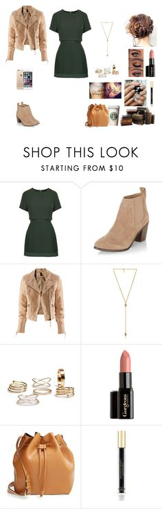 """The Twin Alpha's #17"" by jazmine-bowman on Polyvore featuring Topshop, New Look, H&M, Ettika, Gorgeous Cosmetics, Sole Society and Victoria's Secret"