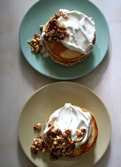 Honey Nut Pancakes