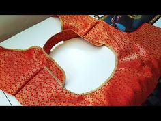 Very New ब्लाउज डिजाइन | blauj dizain cutting and stitching /blouse designs - YouTube Patch Work Blouse Designs, Blouse Back Neck Designs, Fancy Blouse Designs, Baby Dress Patterns, Skirt Patterns Sewing, Coat Patterns, Little Girl Pageant Dresses, Churidar Neck Designs, Sewing Collars