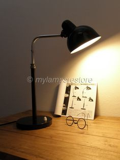 my collection of lamps and other Bauhaus, Lamp Design, Lighting Design, Desk Lamp, Table Lamp, Ingo Maurer, Industrial Design, Restoration, Designers