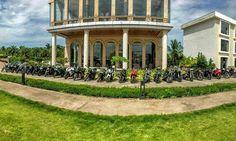 The #coastalsuperbikers #superbikes line up during our stay at #UvaMeridian #Kundapura about few weeks ago.  #bikersofinstagram #bikegram #instabikes #indianbikers  #superbikesinindia #sportsbikelife #superbikelife #Bikers #Bombers #Bikelife #biker #weekend #weekendride #superbikers #superbikes #bikes #bike #superbike #sportsbike #sportsbikes #sportbikes  #ride #riders #iamtheindianbiker #revlimiterz #pdarmy
