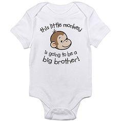 Cafepress Little Monkey Newborn Baby Bodysuit