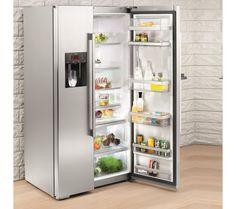 Buy NEFF Series 3 K5920L0GB American-Style Fridge Freezer – Silver | Free Delivery | Currys