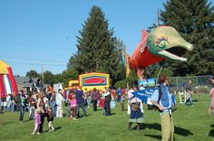 Don't miss the Field of Fun at the Issaquah Salmon Days Festival!