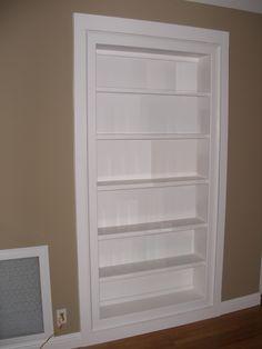 Standard Bookcase secret door