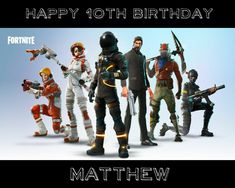 60 Best Fortnite Party Ideas images in 2018 | Anniversary