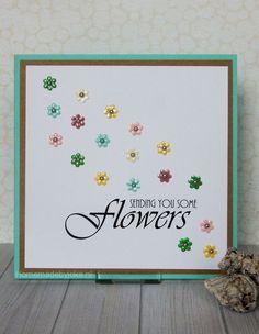 Sending you some flowers card / bloemenkaart