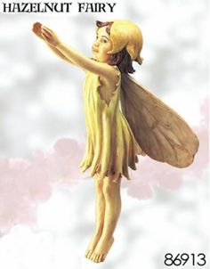 Cicely Mary Barker HAZEL-NUT hazelnut Flower Fairy Figurine | eBay