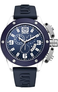 The Tran - E14509G3 Chronograph, Rolex Watches, My Style, Blue, Accessories, Collection, Spring, Dillards, Fashion