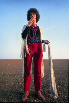 Eric Clapton, 1967, rocking the red pants