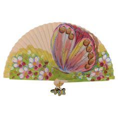 Modern hand fan Hand Held Fan, Hand Fans, Keep My Cool, Fan Decoration, Vintage Fans, Hot Flashes, Butterflies, Whimsical, Fancy