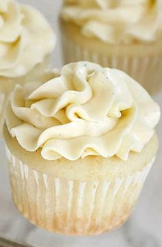Very Vanilla Cupcakes by The Cake Merchant
