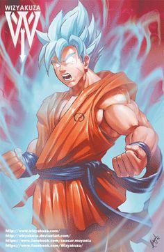 Goku by Wizyakuza