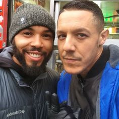 #GoodMorningWorld I was Lucky enough to see my Man #JUICEORTIZ from 'SON'S OF ANARCHY' Today #STILLTHEBESTSHOWONTVPERIOD #TheoRossi #SmoothCriminal #AppreciatethePicBro #GoodLuckandGodBless