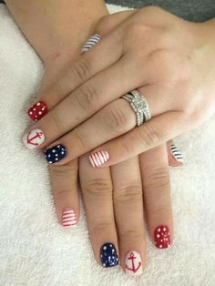 This would be so cute for the Fourth of July!