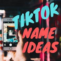 TikTok Username Ideas and Name Generator Creative Instagram Names, Name For Instagram, Instagram Funny, Finsta Names, Cute Names, Funny Names, Funny Instagram Usernames, Instagram Username Ideas, Instagram Ideas