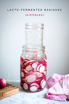 Lacto-Fermented Radishes (AIP/Paleo) and great for gut health :)) » itsmecharlotte.com