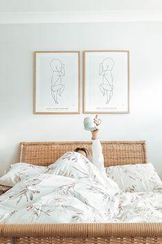 Design Studio, House Design, Room Decor Bedroom, Home Bedroom, Bedrooms, Motif Floral, Floral Design, Quilt Cover Sets, Aesthetic Rooms