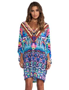 Camilla batwing dress plus