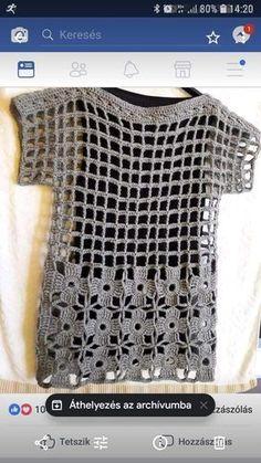 FILET KNITTING If you want more knitting patterns, knitting patterns and beautiful patterns … - Stricken 2020 Crochet Bolero, Gilet Crochet, Crochet Jacket, Crochet Cardigan, Crochet Stitches, Knit Crochet, Crochet Crafts, Easy Crochet, Diy Crafts