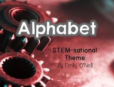 Here is a fantastic alphabet to add to your STEM-themed classroom. It uses photographs that begin with each letter sound. The letters are shown using primary lines. Enjoy!